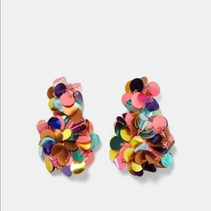 HOST PICK 🎉 Zara Colorful sequins earrings